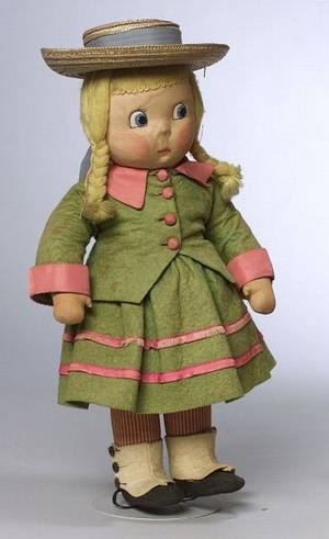 Madame Alexander Susie Q Cloth Doll