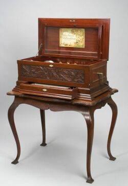 Sublime Harmony Mandarin Interchangeable Musical Box by Mermod Freres