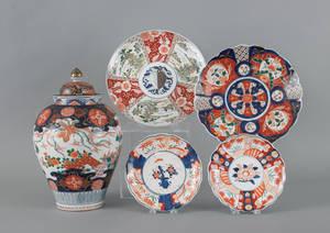 Collection of Imari porcelain