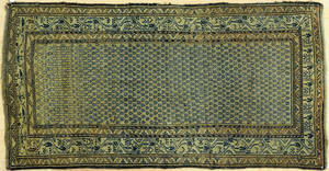 Two Hamadan carpets