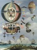 Ralph Cahoon American 19101982 A Balloon Ride