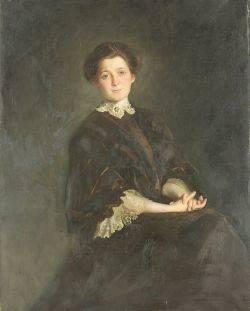 Emil Fuchs American 18661929 Portrait of Miss Clements