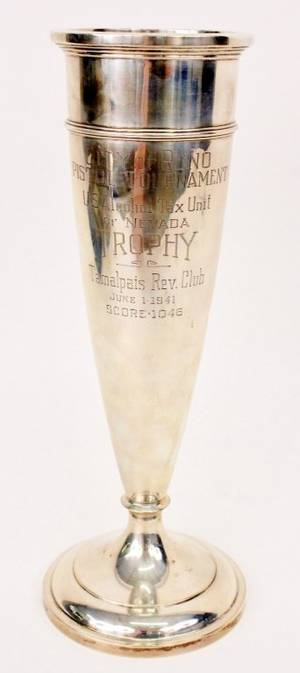 American Sterling Trophy Vase Watson Company