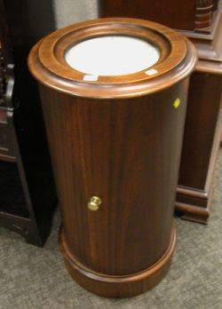 Empirestyle Marbletop Mahogany Commode Pedestal