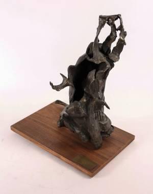 Lilyan Barchoff Le Mendiant Bronze Sculpture