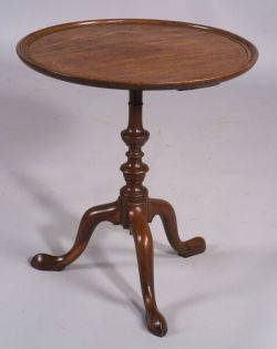 Chippendale Walnut Candlestand