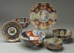 Six Pieces of Imari