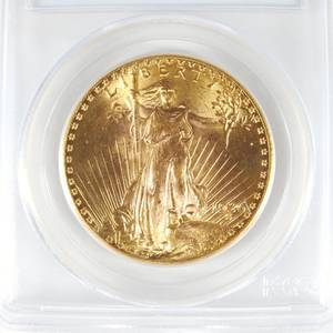 US 1926 20 gold St Gaudens coin