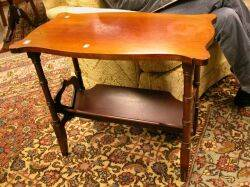 Pair of Late Victorian Mahogany Book Tables