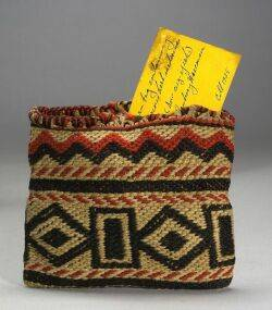Great Lakes Polychrome Wool Bag