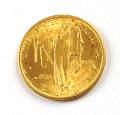 1926 25 US Sesquicentennial of Independence gold coin
