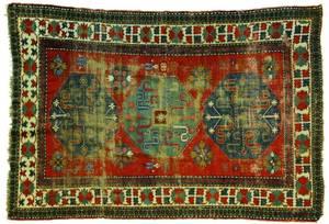 Cloud band Kazak carpet