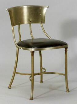 Modern Metal Side Chair