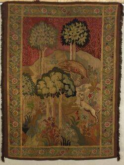 Arts and Craftsstyle Continental Tapestry Panel