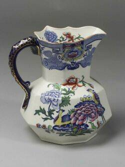 Masons Ironstone China Pitcher and Wash Basin