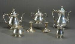 Gorham Five Piece Sterling Tea and Coffee Service