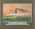 Lithograph for the Chesapeake Steamship Company