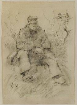 Anton Mauve Dutch 18381888 Man Fishing