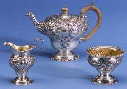 English George III Assembled Three Piece Tea Service