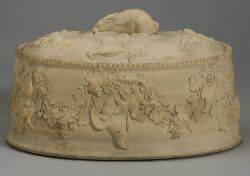 Wedgwood Cane Ware Game Pie Dish and Cover