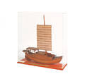 Wood model of a Chinese trading junk