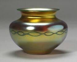 Carder Steuben Gold Aurene Vase