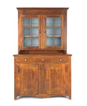 Pennsylvania poplar Dutch cupboard