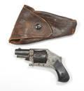 European fiveshot folding trigger revolver