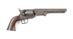 Colt Brevette Belgium copy of a Colt model 1851 Navy revolver
