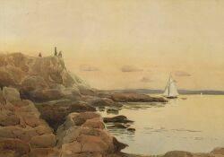 George Elmer Browne American 18711946 North Shore Coast