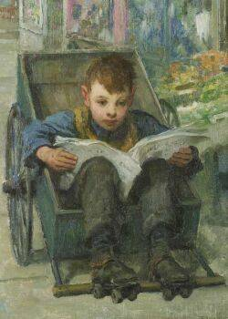 Francis Luis Mora American 18741940 The Daily News