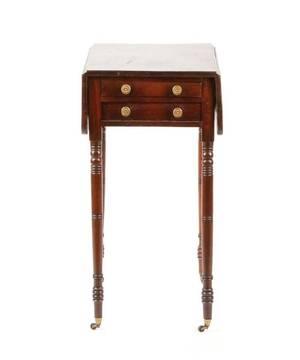 English Mahogany Pembroke Table 18th C