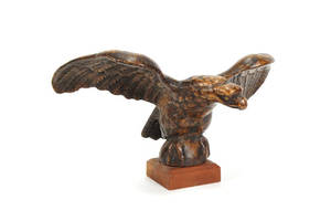Cast iron eagle architectural ornament