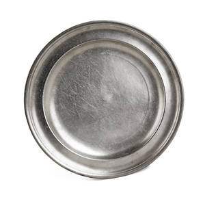 Providence Rhode Island pewter plate ca 1790