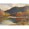 Aldro Thompson Hibbard American 18861972 West River Vermont