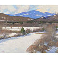 Thomas R Dunlay American b 1951 Mt Washington Early Spring