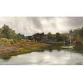 Frederick Porter Vinton American 18461911 River View Spring