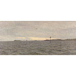 Charles Harold Davis American 18561933 On the Sound Noank Connecticut
