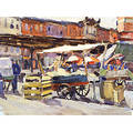 Edith Briscoe Stevens American 18961931 The Marketplace