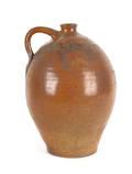 New Jersey stoneware jug 19th c