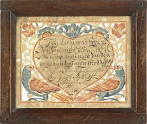 Wilhelmus Antonius Faber Southeastern Pennsylvania active 17901818