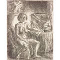 John Sloan American 18711951 Nude at Dressing Table