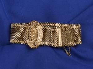 Victorian 18kt Gold Slide Bracelet
