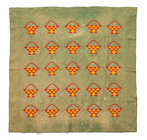 Pennsylvania patchwork basket quilt