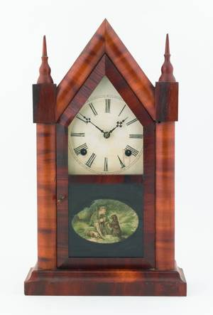 Waterbury steeple clock