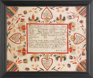 Martin Brechall Southeastern Pennsylvania active 17831830