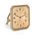 Tiffany  Co brass desk clock