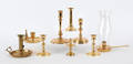 Collection of Contemporary brass lighting