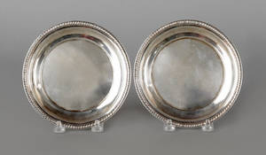 Pair of Philadelphia silver plates ca 1820