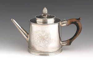 Philadelphia silver teapot ca 1795